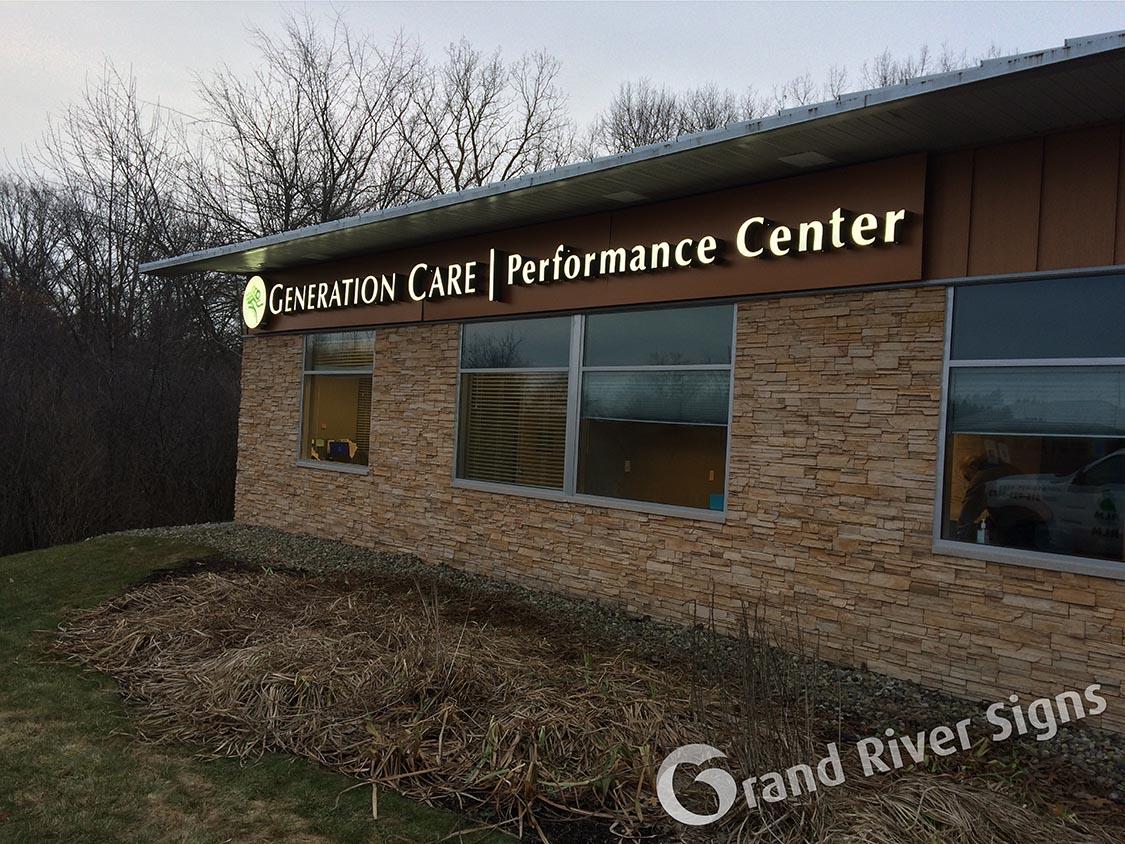 LED_Channel_Letter_Sign_Generation_Care_Grand_Rapids_MI